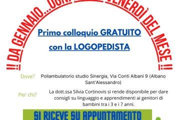 Open day logopedista Venerdì